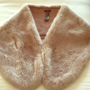 Zara faux fur stole